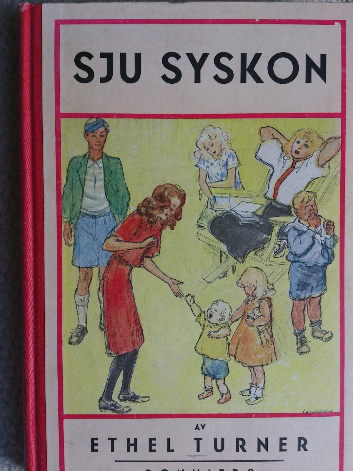 Hedvigs bokhylla Sju syskon av Ethel Turner