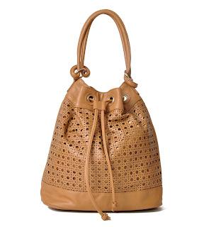 bolsa sacola em couro