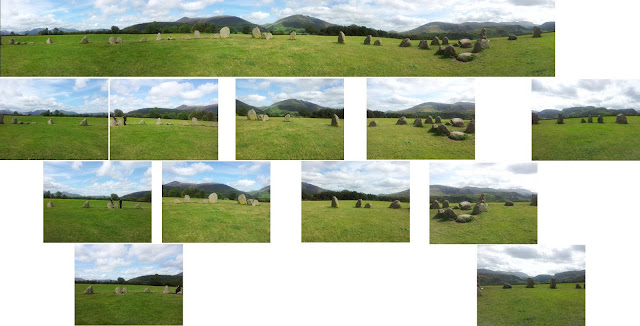 Castlerigg panorama sources