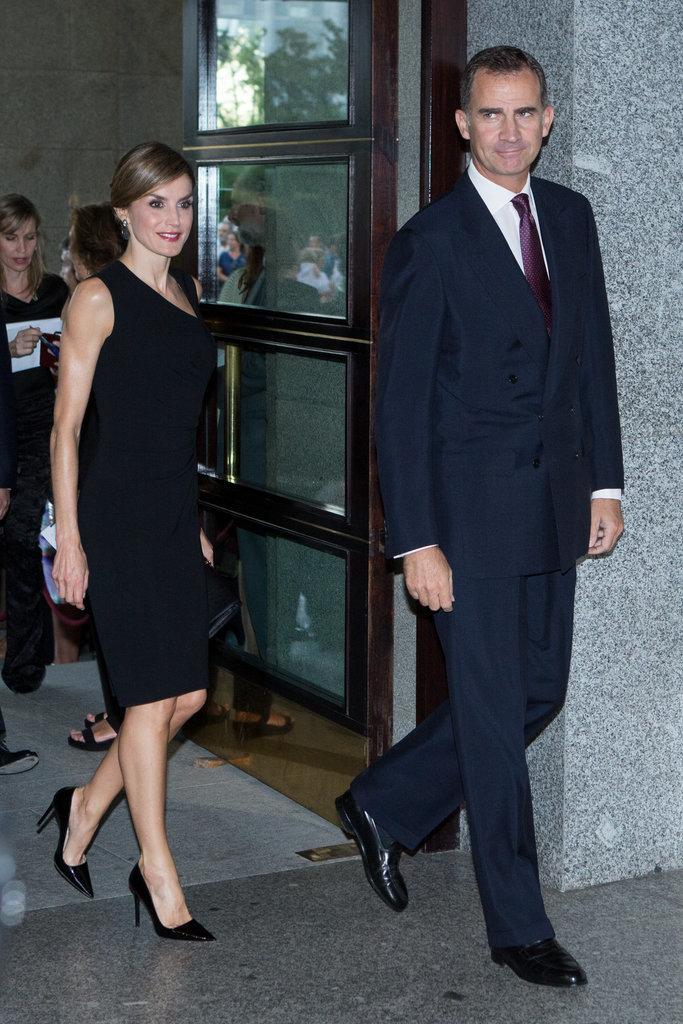 Royals & Fashion: Soirée au théâtre royal, Madrid