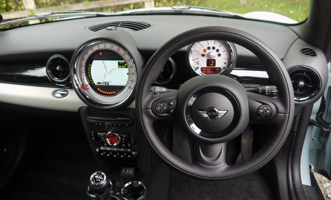 Mini Clubvan driver's view