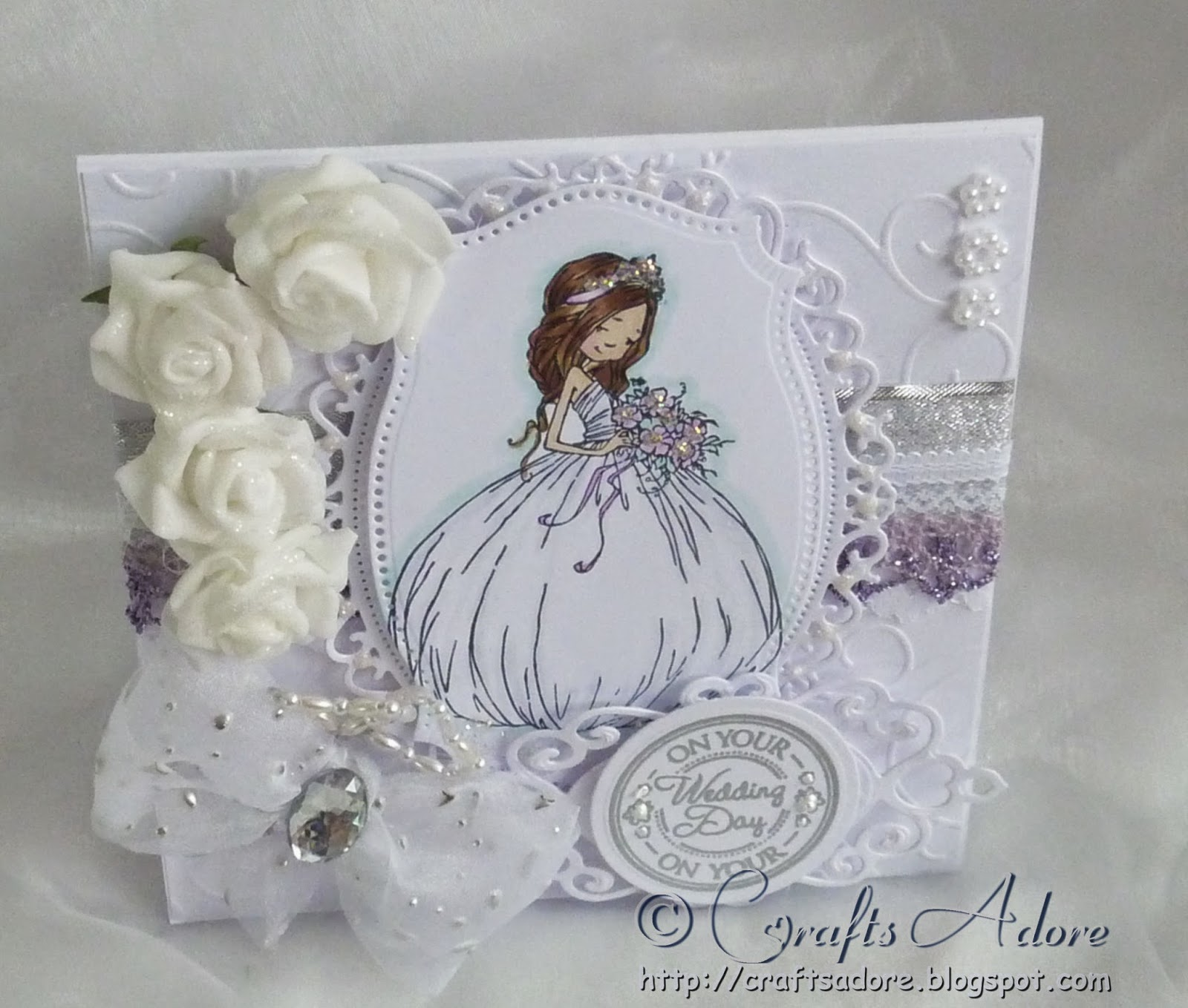 "Sugar Nellie ""Little Princess"" Wedding Congratulations Card"
