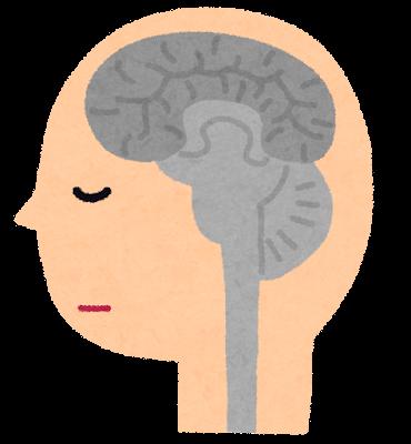 脳死のイラスト