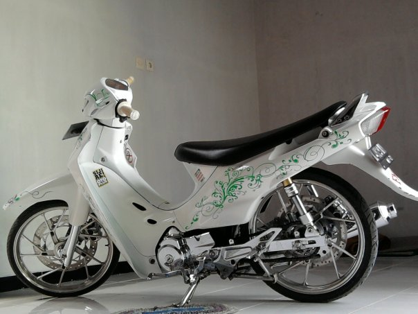 Picture Motor Shogun Modifikasi