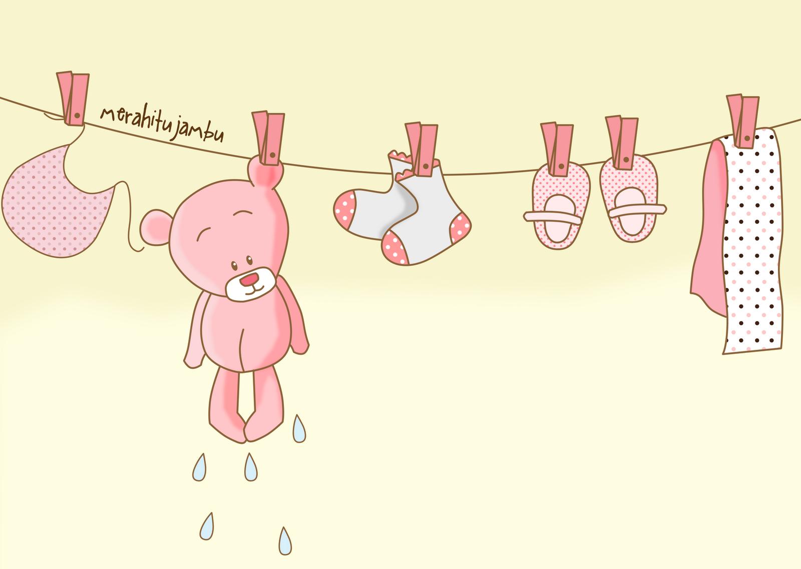sidai baju basah