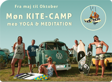 Kite-Camp på Møn