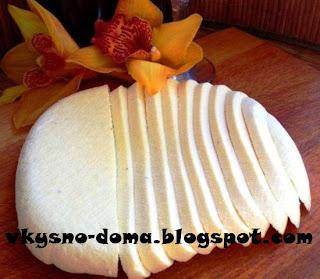 Домашний сыр на молоке,кефире и сметане