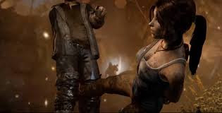 Young Lara Croft in search of new adventures, find it before but. She survives a shipwreck and is on a mysterious island