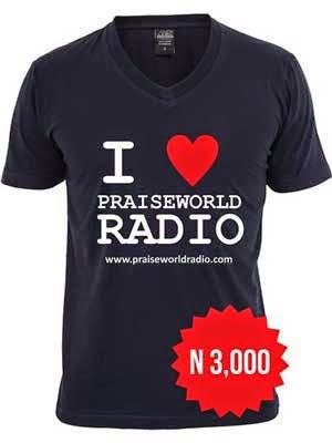 Maglietta Praiseworld Radio