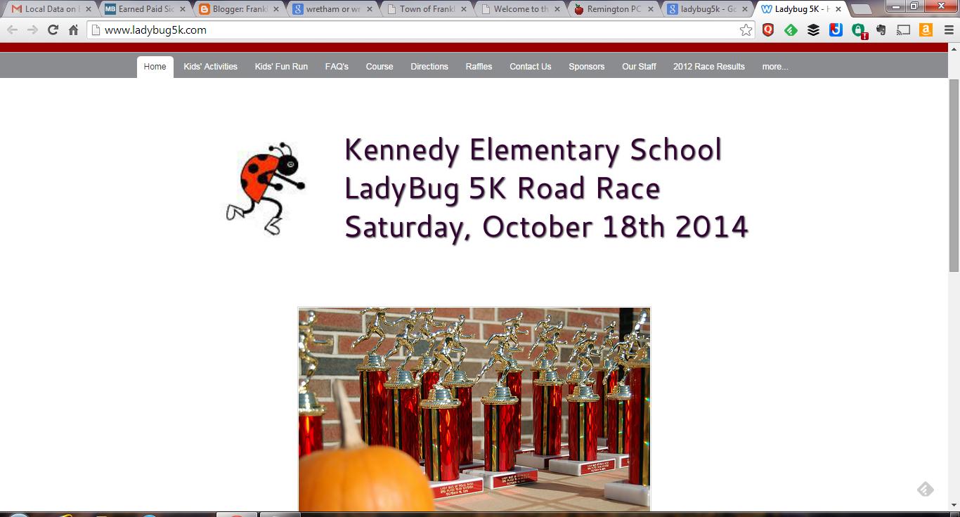 Ladybug 5K Road Race