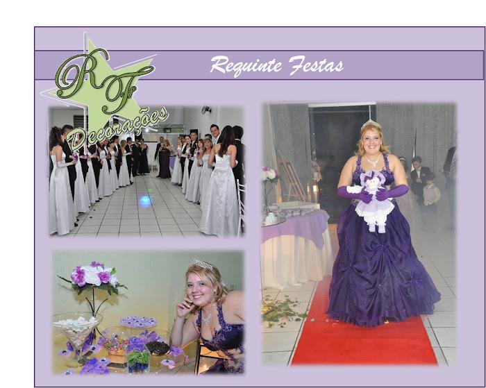 Festa de Debutante Realizada na Requinte Festas