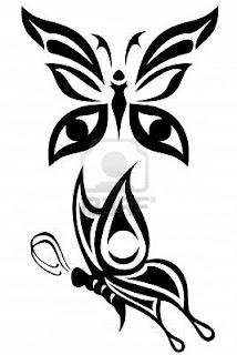 De todito para ver imagenes yvideos tatoos - Tribal papillon ...