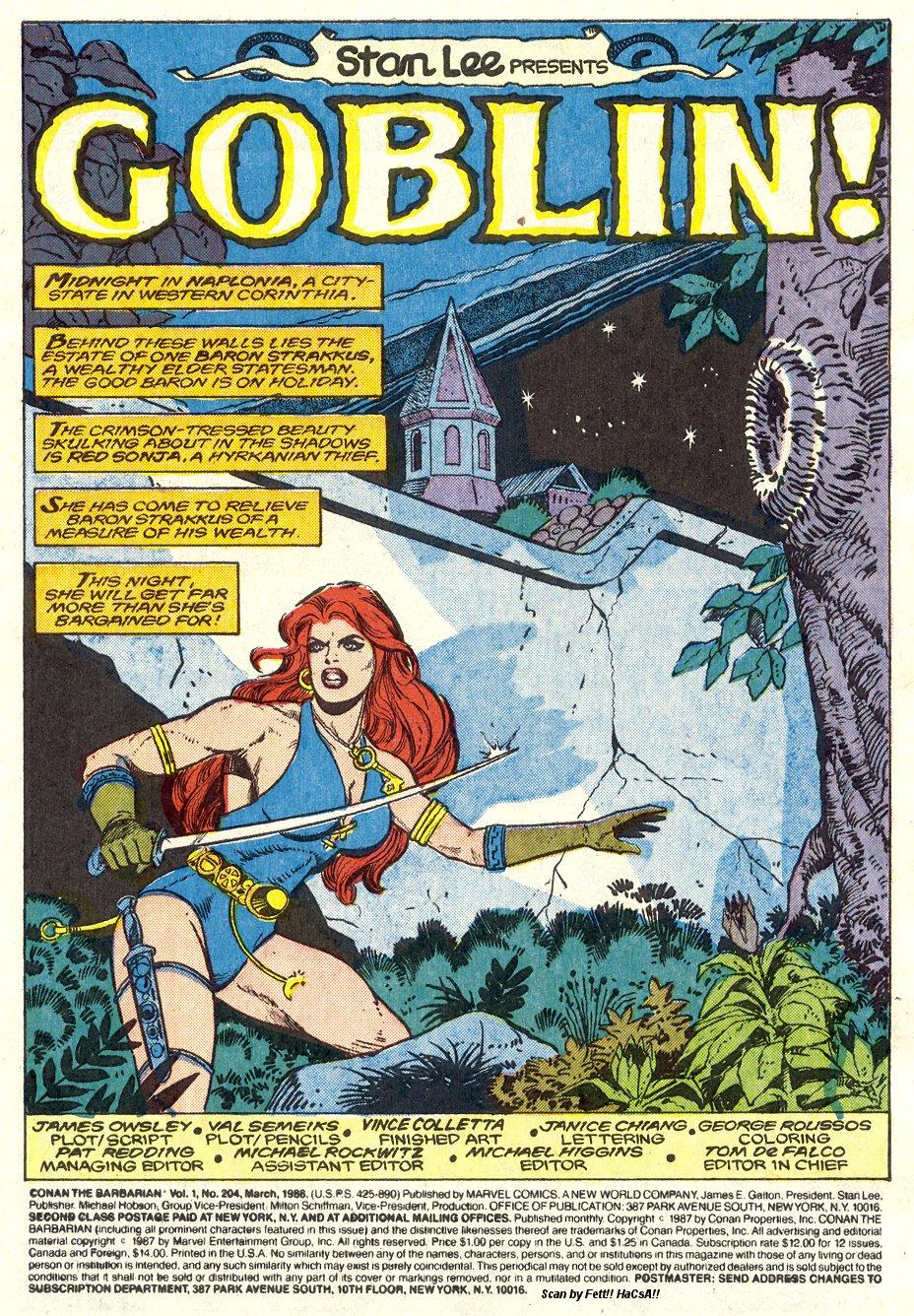 Conan the Barbarian (1970) Issue #204 #216 - English 2