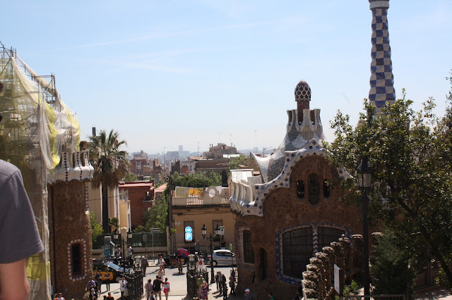 Revisiting Our Honeymoon - Barcelona, Spain - Parc Guell