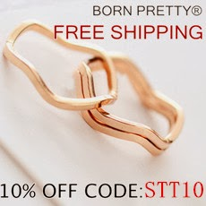 Get 10% off at Born Pretty using the code: STT10