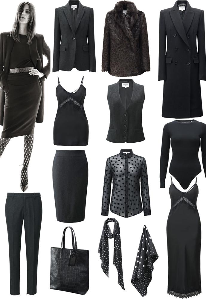 Carine Roitfeld x Uniqlo collaboration collection pieces via fashionedbylove.co.uk british fashion blog