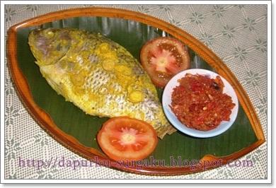 Air Tawar, Olahan Ikan Mujair, Resep Ikan Kukus, Resep Ikan Goreng