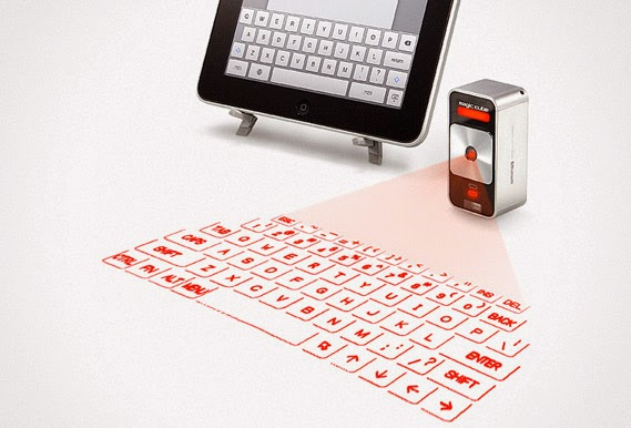 iPad Virtual Laser Keyboard