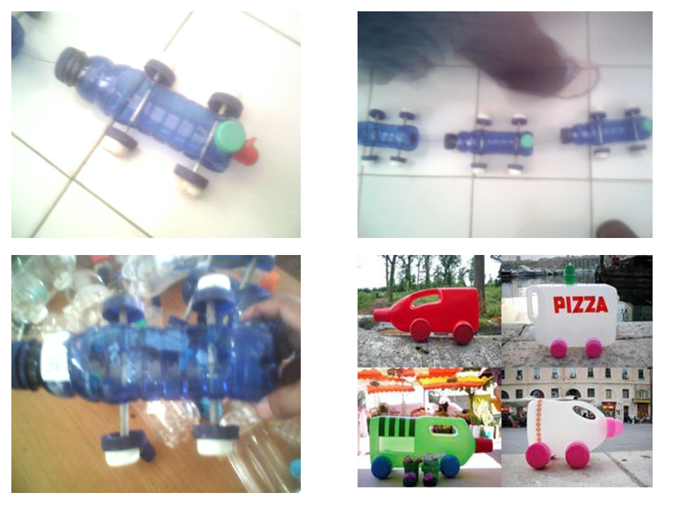 kerajinan tangan dari barang bekas botol minuman :gb. sdindablog-cara