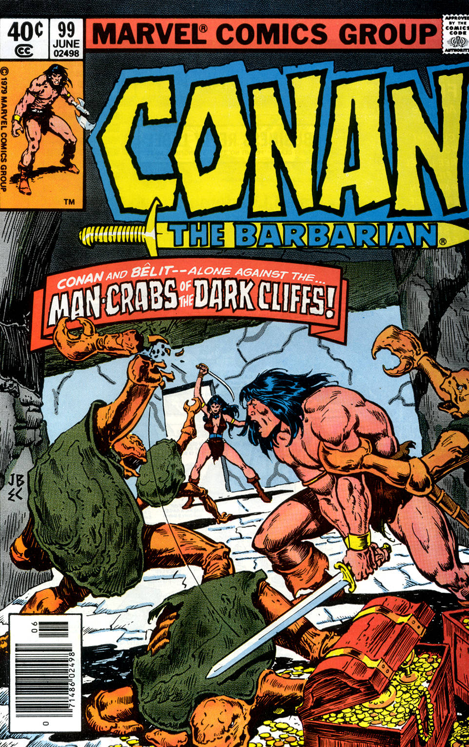 Conan the Barbarian (1970) Issue #99 #111 - English 1