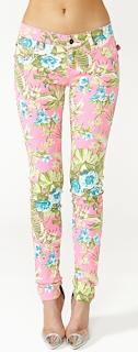 Hot Tropic Skinny Jean Floral