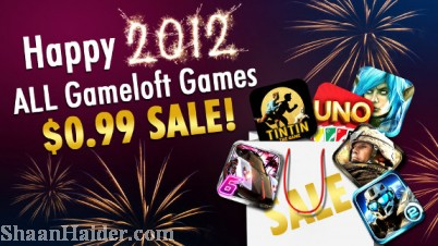 Buy Gameloft iPhone, iPad & Android games at $0.99