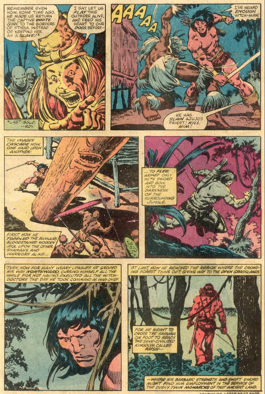 Conan the Barbarian (1970) Issue #105 #117 - English 4