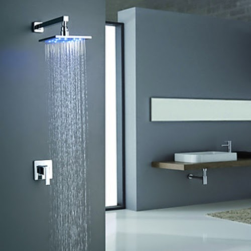 foundation dezin decor shower heads with light
