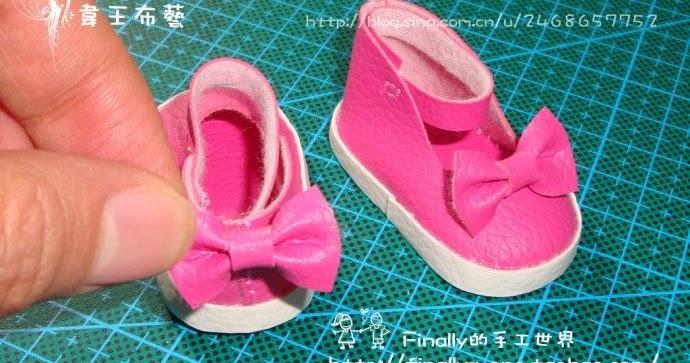Выкройки туфельки для куклы фото 316