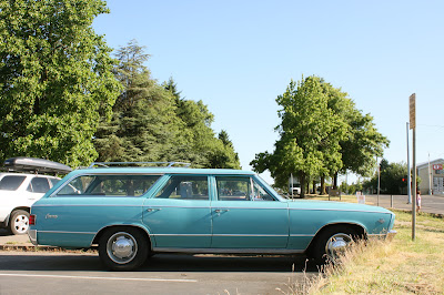 1967 Chevrolet Chevelle Concours Wagon.