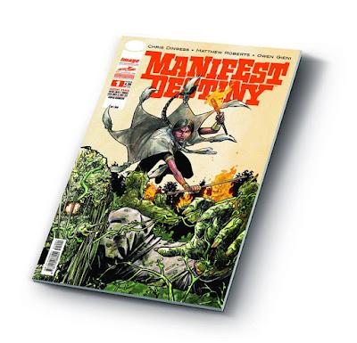 Manifest Destiny #1 (variant cover)