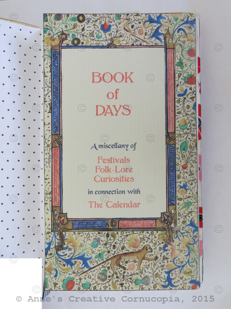 Book of Days 2015