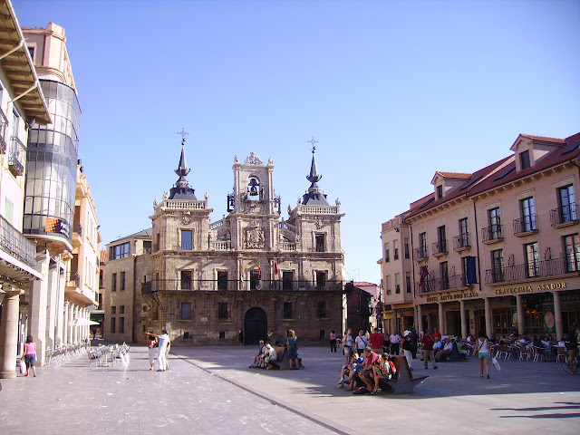 plaza mayor astorga