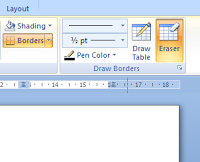 Cara Menghapus Tabel dengan Table Tools di Microsoft Word