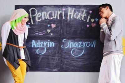 Shazroul Fazlie feat. Adzrin Adzhar - Pencuri Hati MP3