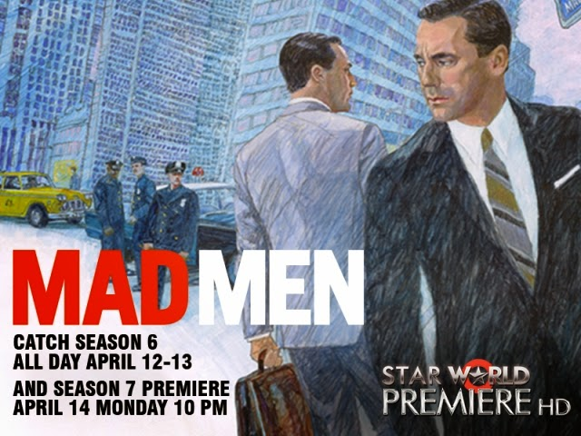 'Mad Men' Season 6 on STAR World Premiere HD From April 12-13