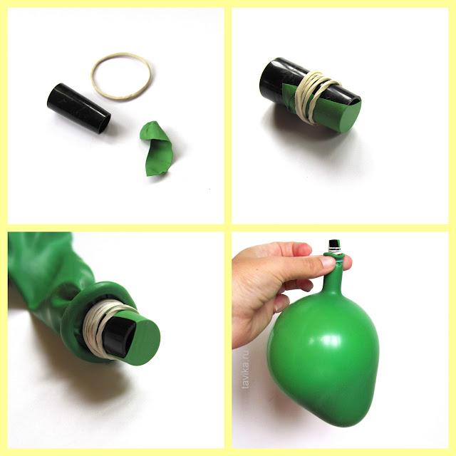 Как сделать воздушный шарик со свистком