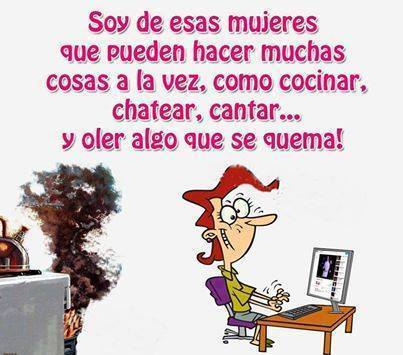 mujeres hacer muchas cosas