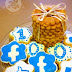 Shortbread vanilla cookies & 100 FB fans celebration