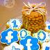 Shortbread vanilla cookies & 100 FB fans celebration