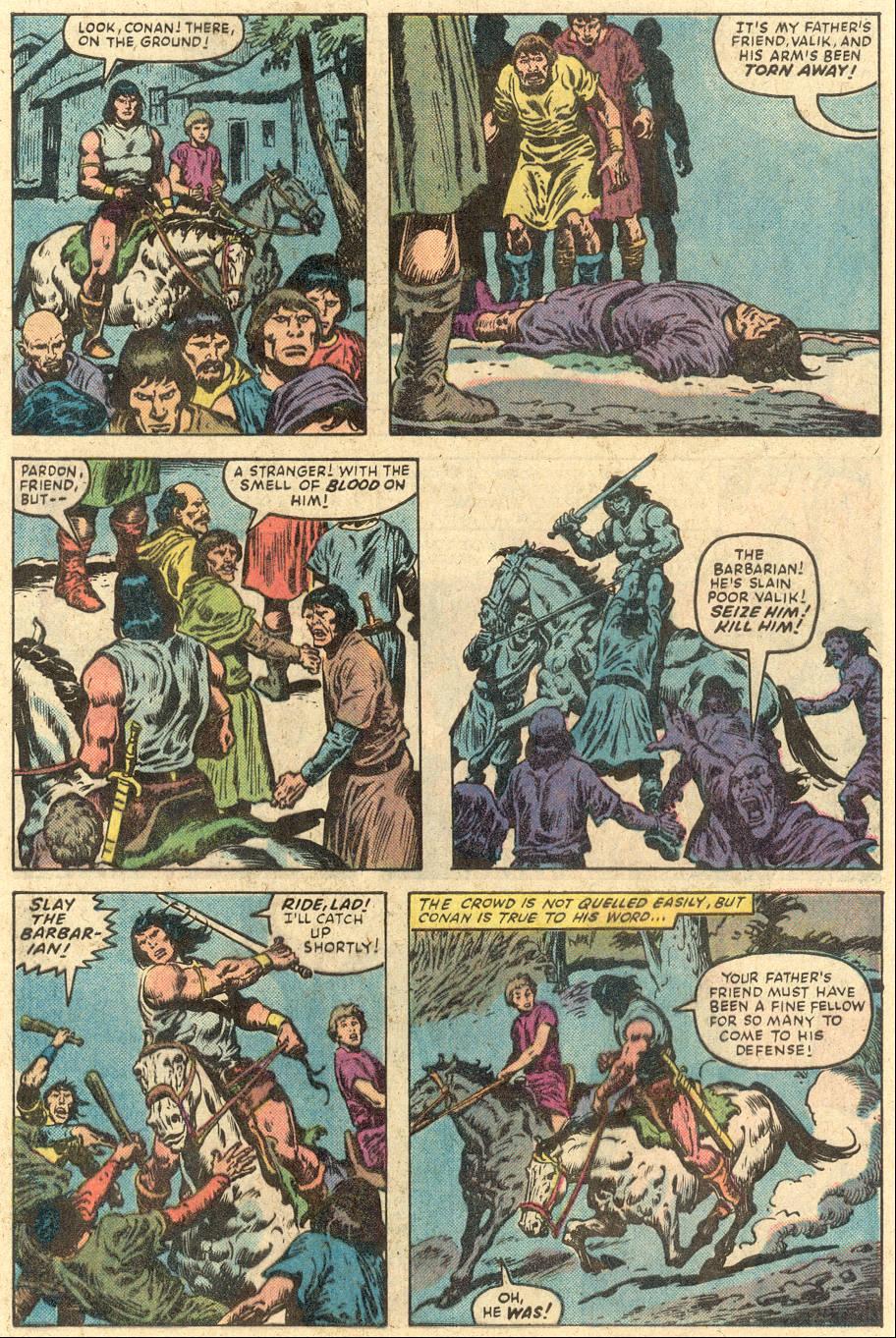 Conan the Barbarian (1970) Issue #149 #161 - English 6