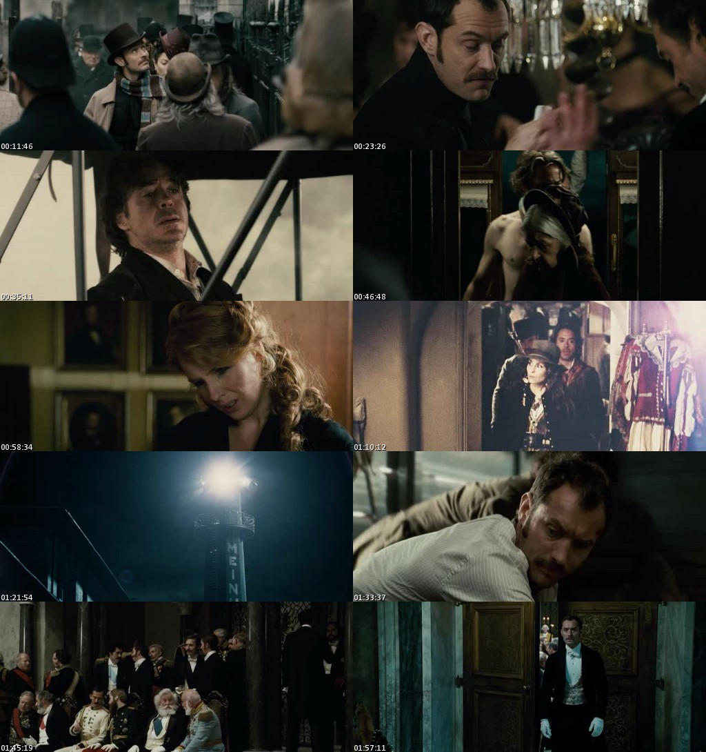 Sherlock Holmes: Juego de sombras (2011) [DVDRip] [Latino]