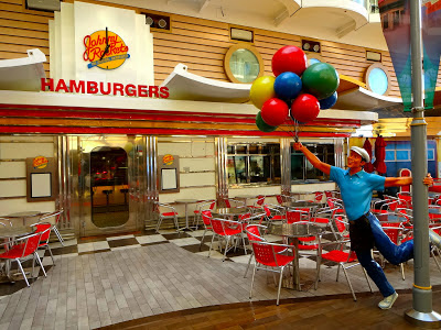 Oasis of the Seas Johnny Rockets