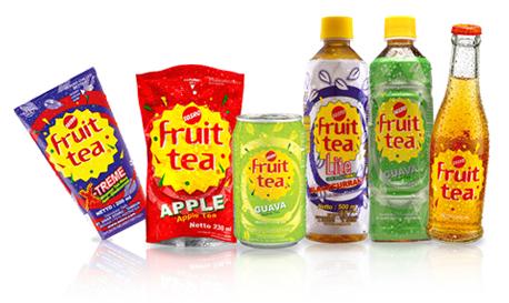 Produk Sosro Fruit tea