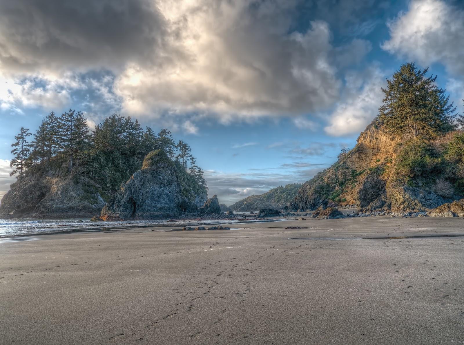 HDR Beach photo
