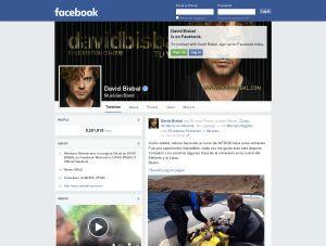 David Bisbal Facebook Official