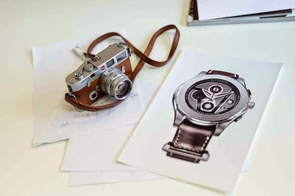 đồng hồ Valbray lấy cảm hứng từ máy ảnh