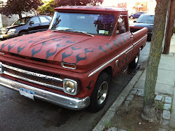 RED PRIMER 1964 CHEVY C10