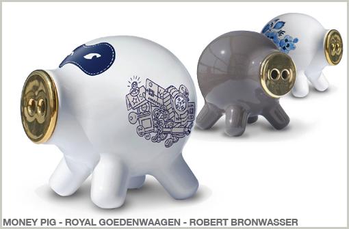 MONEY PIG - ROYAL GOEDENWAAGEN