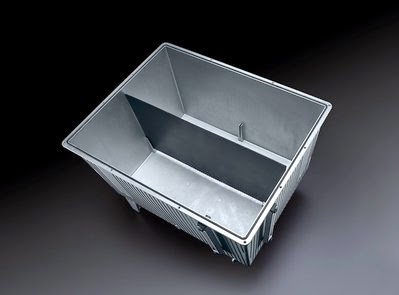 Aluminum Reservoir - 130 Liter